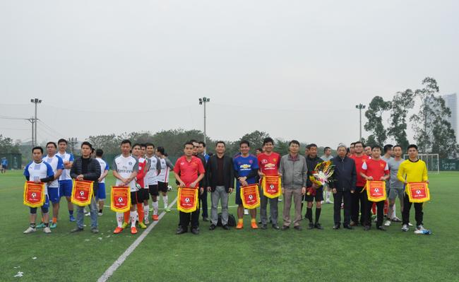 Khai mạc Giải bóng đá mini Kiểm toán nhà nước lần thứ 13