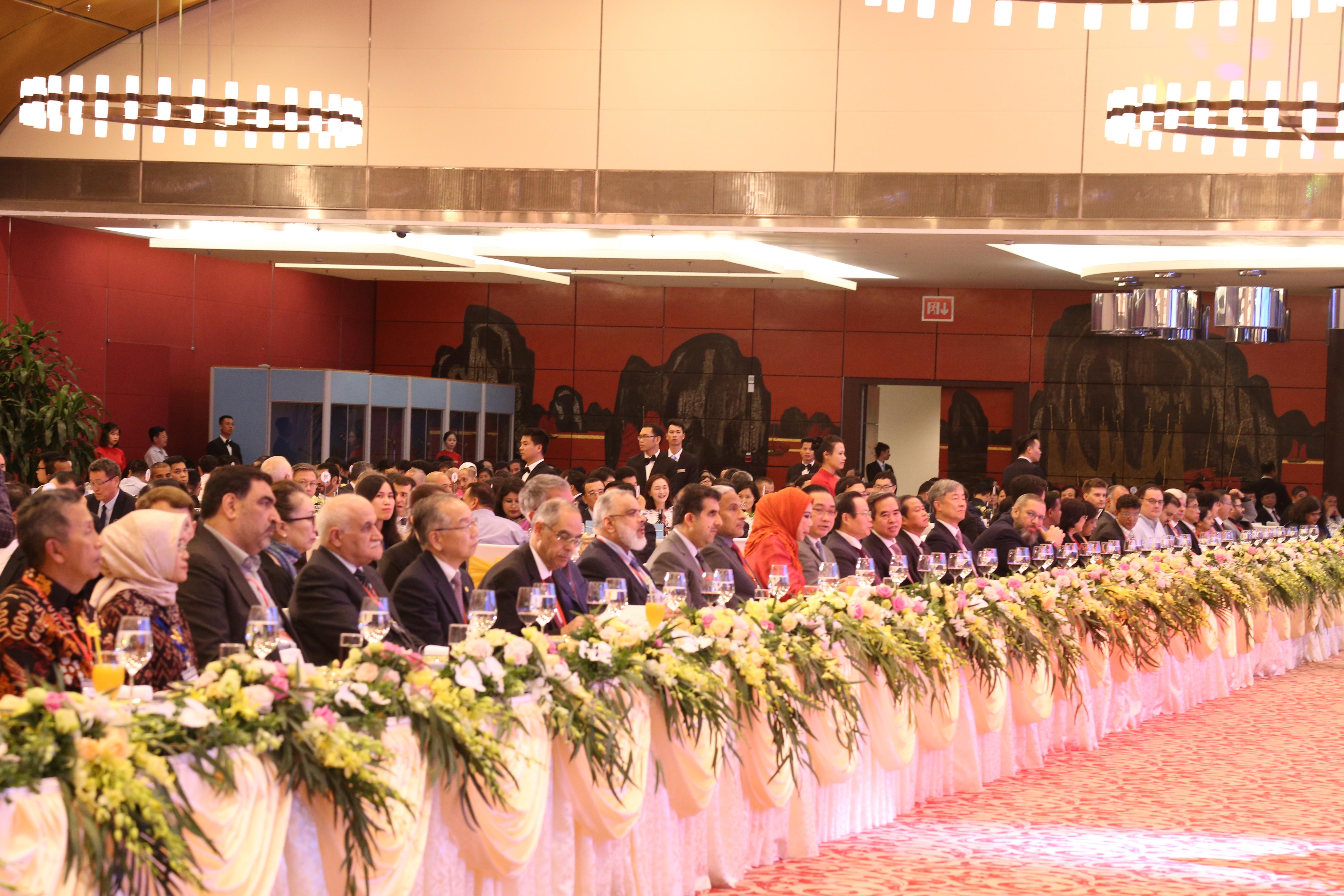 Tiệc chào mừng các đoàn đại biểu tham dự Đại hội Tổ chức các cơ quan kiểm toán tối cao châu Á lần thứ 14