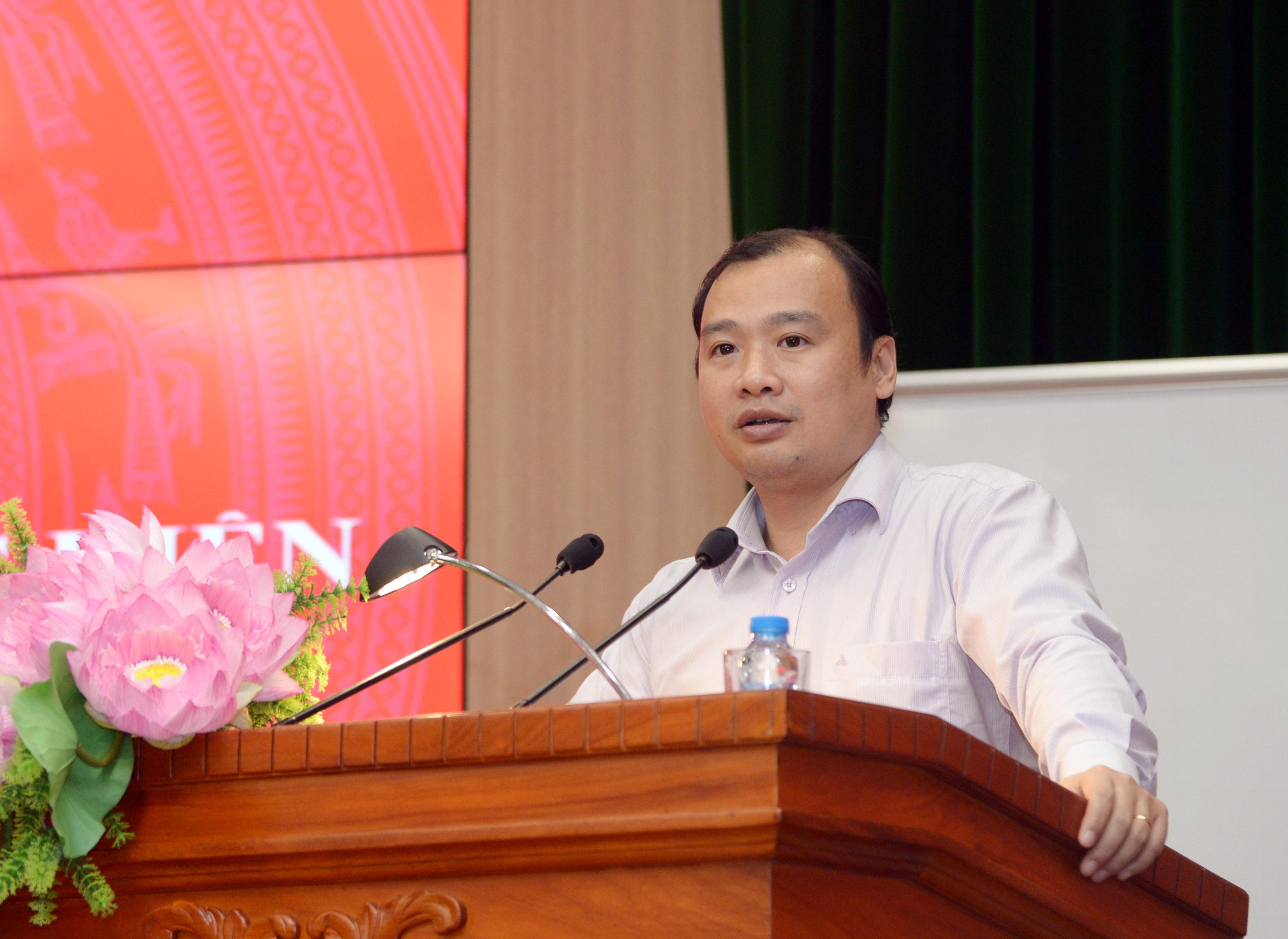 Hội nghị quán triệt và triển khai thực hiện Nghị quyết TW 8(Khóa XII)