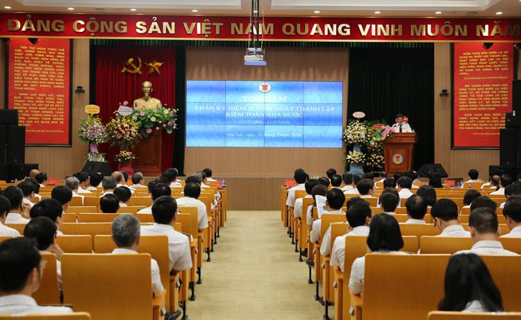 Tọa đàm kỷ niệm 25 năm thành lập Kiểm toán nhà nước