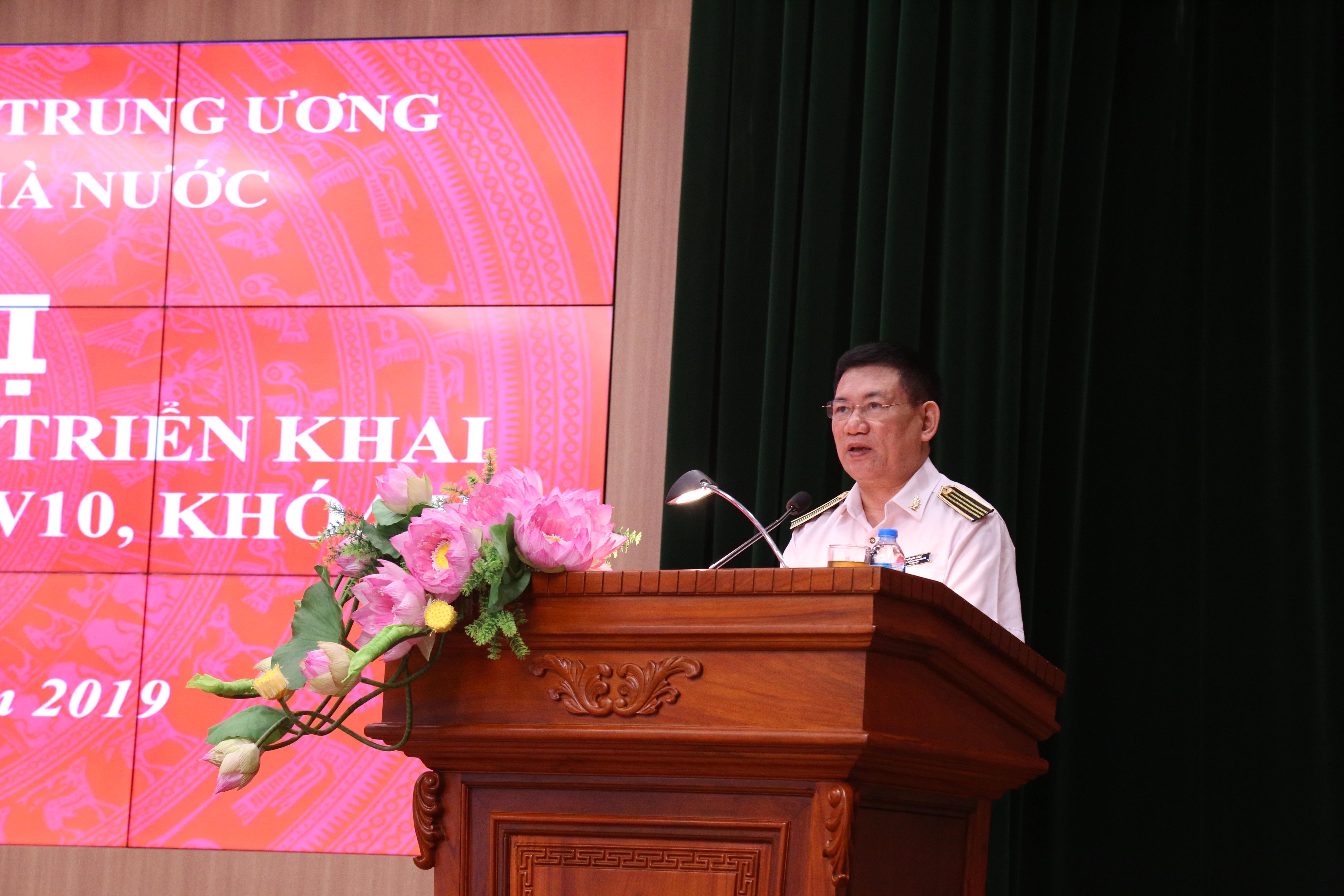 Đảng ủy Kiểm toán nhà nước triển khai  học tập, quán triệt và triển khai thực hiện Nghị quyết Trung ương 10 khóa XII