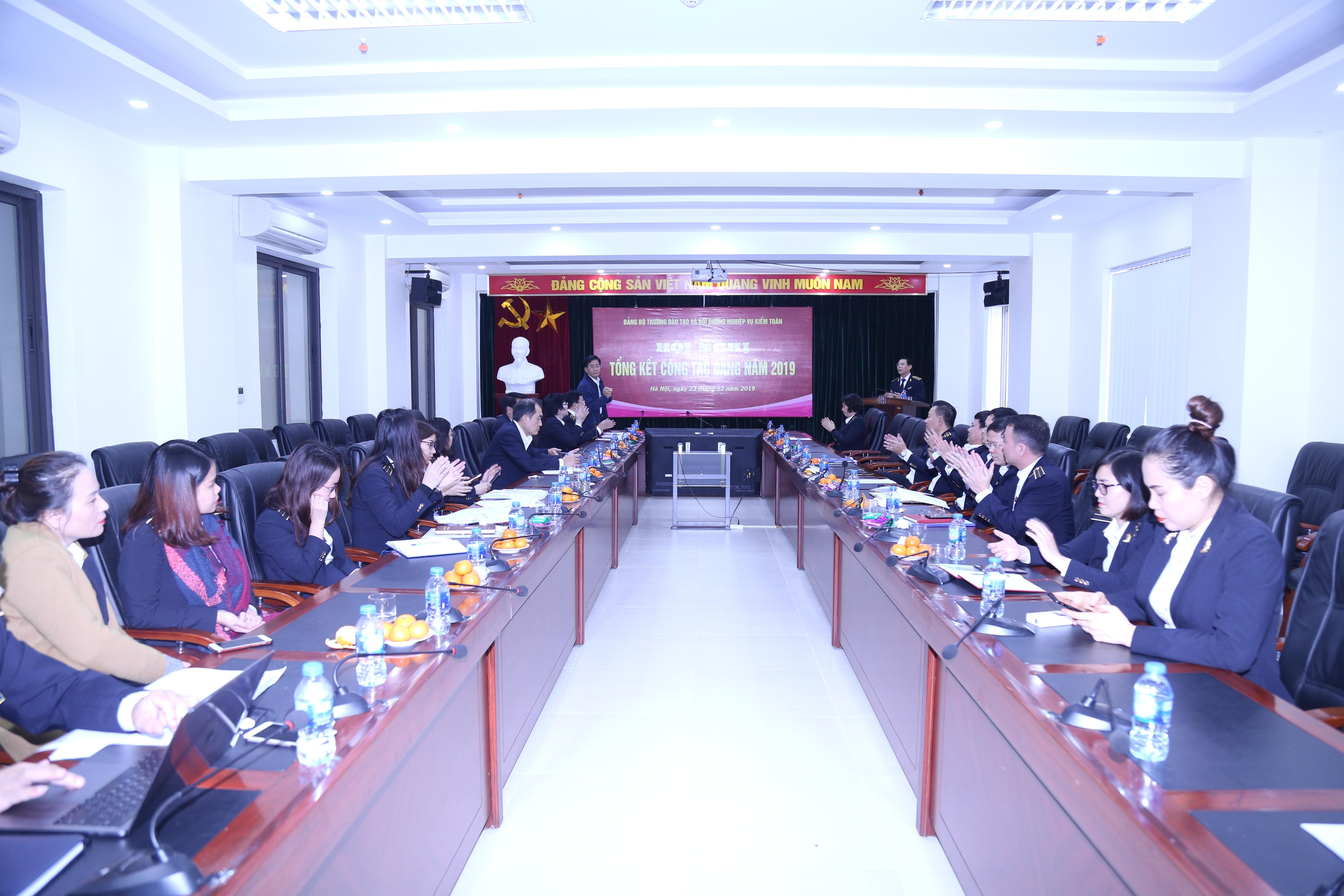 Trường ĐT&BD nghiệp vụ Kiểm toán đã tổ chức Hội nghị tổng kết công tác Đảng năm 2019