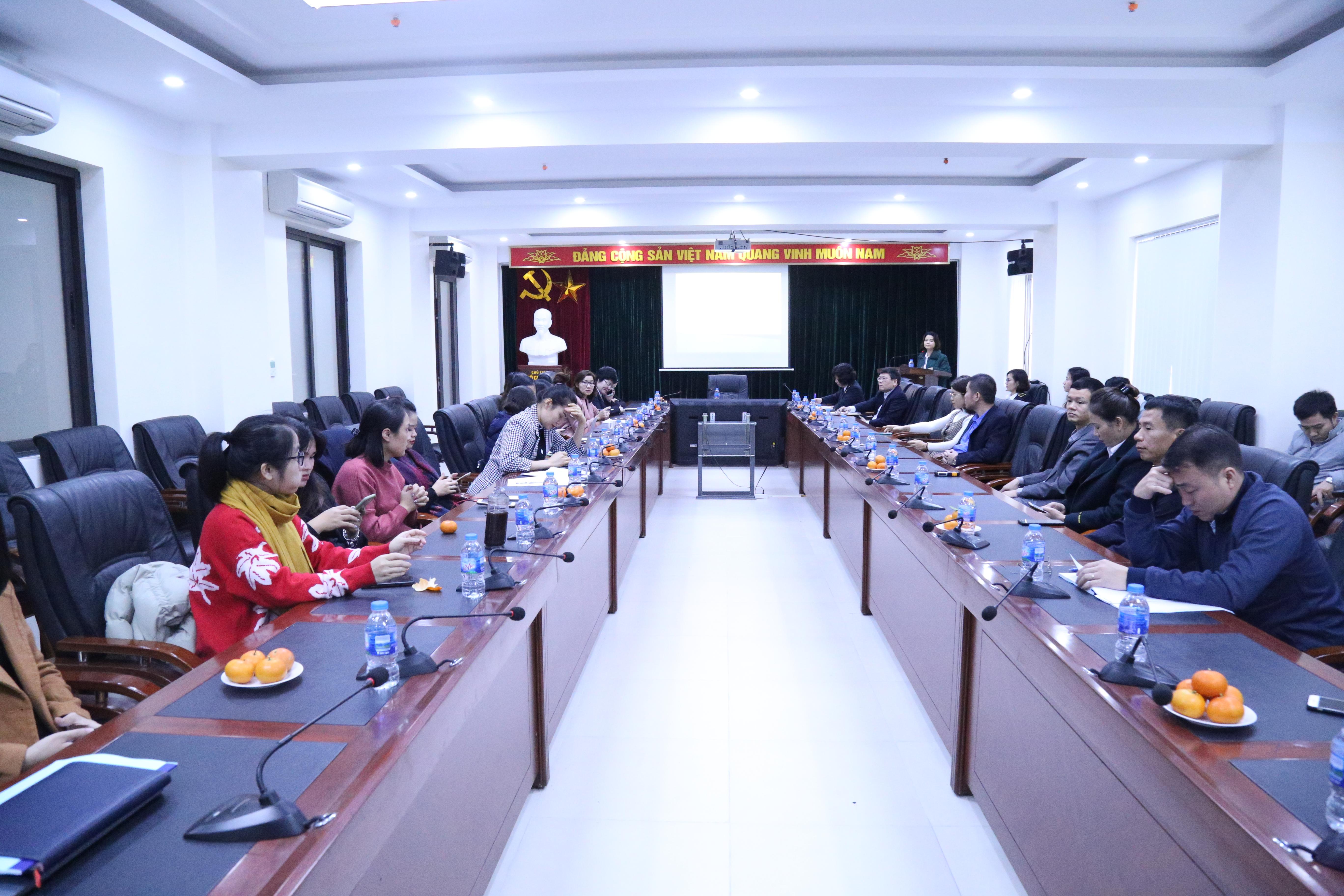 Công đoàn Trường ĐT&BD nghiệp vụ kiểm toán đã tổ chức tổng kết công tác năm 2019 và triển khai nhiệm vụ năm 2020
