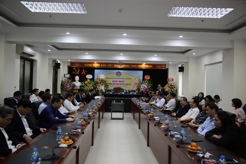 Trường Đào tạo và bồi dưỡng Nghiệp vụ kiểm toán gặp mặt chào mừng ngày Nhà giáo Việt Nam