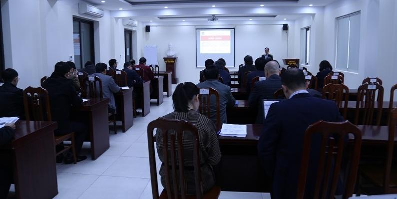 Khai giảng Lớp kỹ năng diễn thuyết, phát biểu, chủ trì cuộc họp cho lãnh đạo cấp Vụ