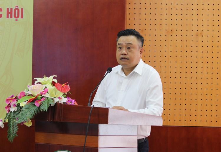 Ủy viên BCH Trung ương Đảng, Tổng Kiểm toán nhà nước Trần Sỹ Thanh tiếp xúc cử tri 5 huyện biên giới tỉnh Lạng Sơn