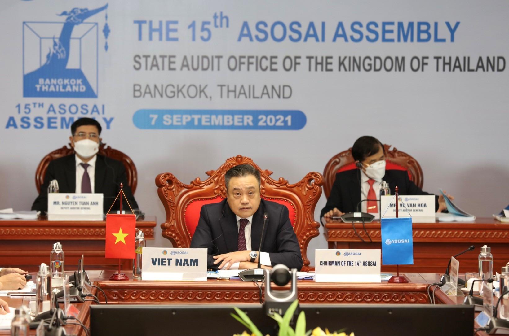 Khai mạc Đại hội Tổ chức các Cơ quan Kiểm toán toán tối cao châu Á (ASOSAI) lần thứ 15